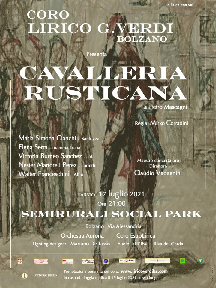 Opera Cavalleria Rusticana Semirurali Social Park Bolzano